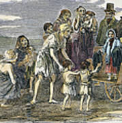 Irish Great Potato Famine Poster