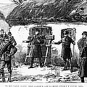 Irish Land League, 1887 Poster