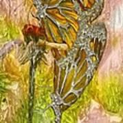 Iron Butterflys Poster by Jack Zulli