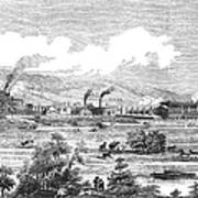 Iron Works, 1855 Poster