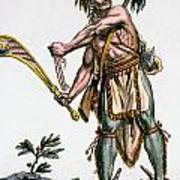 Iroquois Warrior Poster