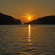 Island's Sunset Poster