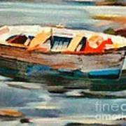 Istrian Fishing Boat Poster