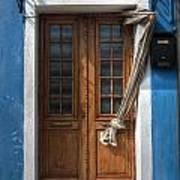 Italy Old Door Poster by Joana Kruse
