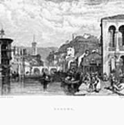 Italy: Verona, 1833 Poster