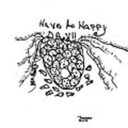 It's Happy Day Poster by Thelma Harcum