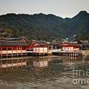 Itsukushima Shrine On Miyajima Island Poster