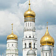 Ivan The Great Tower In Moscow Kremlin Poster