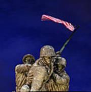 Iwo Jima Memorial Front View Poster