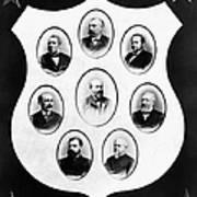 J.a. Garfield: Cabinet Poster