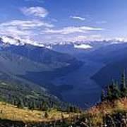 Jack Peak And Ross Lake Poster