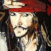 Jack Sparrow Print Poster