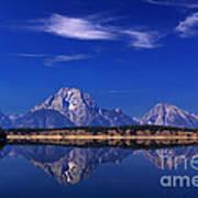 Jackson Lake Reflection Poster