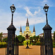 Jackson Square In New Orleans Poster