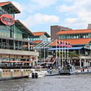 Jacksonville Florida Landing Poster