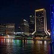 Jacksonville Florida Riverfront Poster