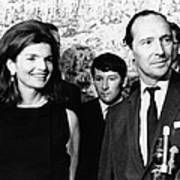 Jacqueline Kennedy With David Poster by Everett