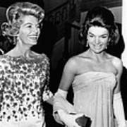 Jacqueline Kennedy With The Wife Poster by Everett