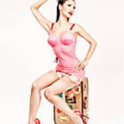 Jade Vixen Bubblegum 1076 Poster