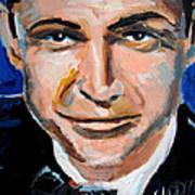 James Bond  Poster by Jon Baldwin  Art