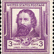 James Russell Lowell Poster
