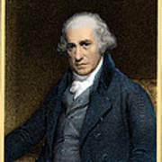 James Watt, Scottish Inventor Poster