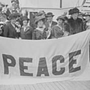 Jane Addams 1860-1935, Humanitarian Poster