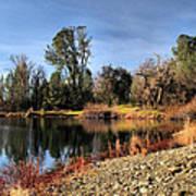January Bass Pond 2012 Poster
