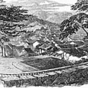 Japan: Nagasaki, 1858 Poster