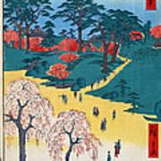 Japan: Temple Gardens Poster
