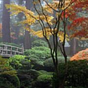 Japanese Gardens Fall Poster