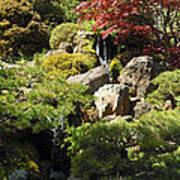 Japanese Tea Gardens San Francisco Poster