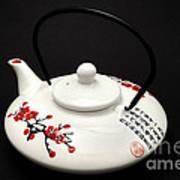 Japanese Teapot Poster