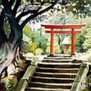 Japanese Tori Poster