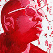 Jay-z Poster by Michael Ringwalt