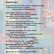 Jazz Changes - Poem Poster