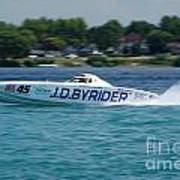J.d. Byrider Offshore Racing Poster