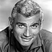 Jeff Chandler, Ca. Late 1950s Poster by Everett