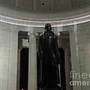 Jefferson In The Dark Poster