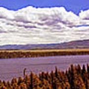 Jenny Lake Panorama Poster