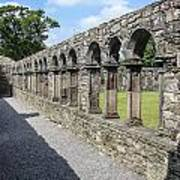 Jerpoint Abbey Arches Poster