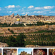 Jerusalem Poster Poster