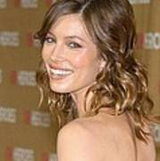 Jessica Biel At Arrivals For All-star Poster by Everett