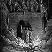 Jews In Fiery Furnace Poster