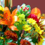 Joannes Flowers Poster