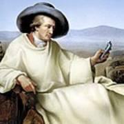 Johann Von Goethe, German Author Poster