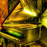 John Broadwood And Sons Grand Piano Poster