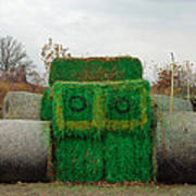 John Deer Made Of Hay Poster
