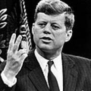 John F. Kennedy, Stating That The U.s Poster