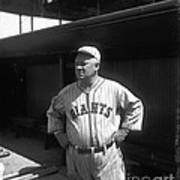 John Mcgraw -  New York Giants Poster by David Bearden